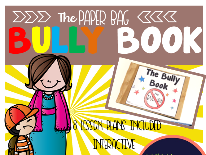 Paper Bag Bully Book
