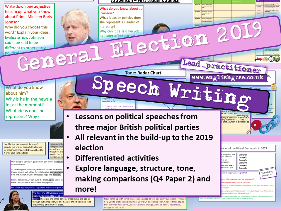 General Election 2019 Speeches