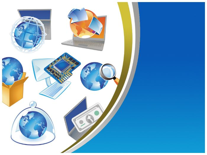 computer network ppt templatetemplatesvision_com - teaching, Modern powerpoint