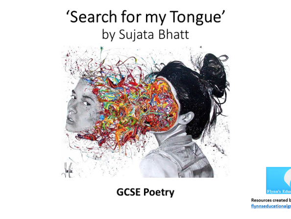GCSE Poetry: 'Search for my Tongue' by Sujata Bhatt