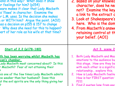 How far does Shakespeare present Macbeth as evil?  How does Shakespeare present the Macbeths' relati