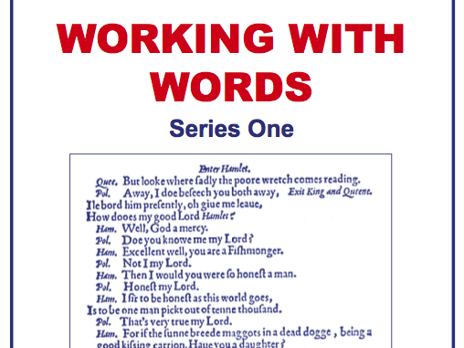 Working with Words Series One Scheme of Work