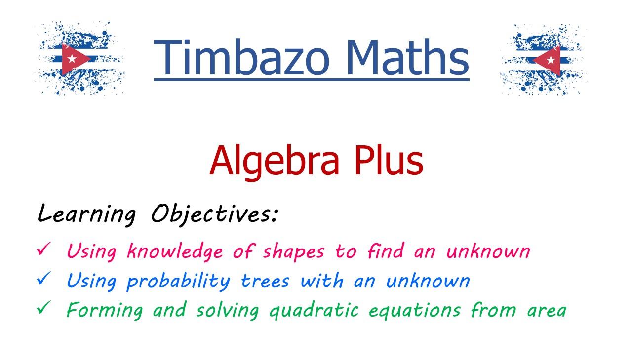 Algebra Plus