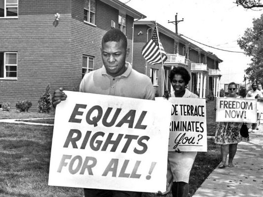 AQA History America 1920 - 1973   Freedom rides and direct action - civil rights