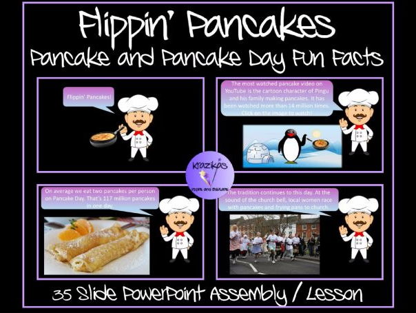 flippin pancakes february powerpoint assembly lesson fun and