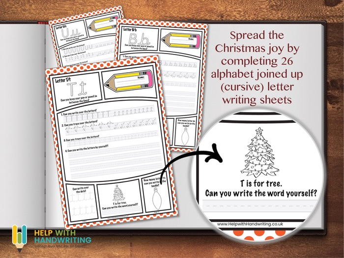 Christmas Alphabet Worksheets