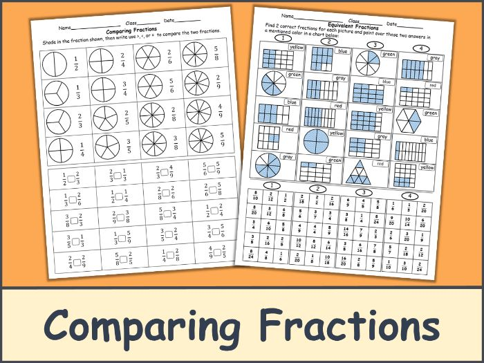 Comparing Fractions