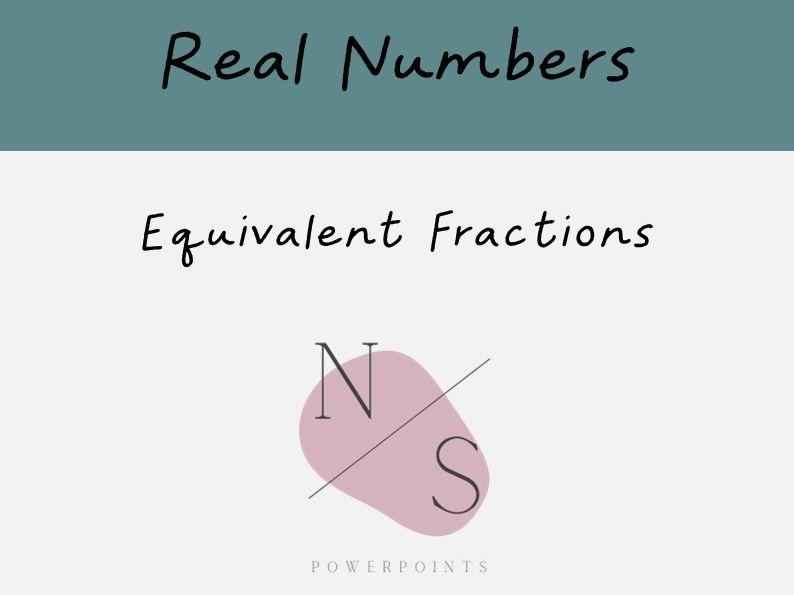 Equivalent Fractions Lesson Presentation