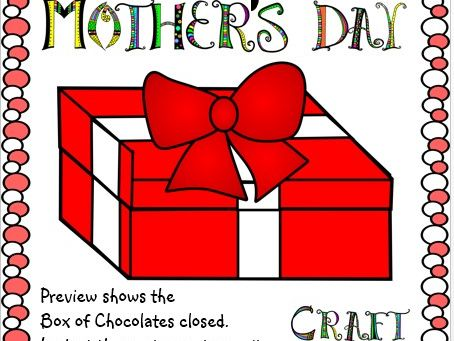 Mother's Day Crafts Box of Chocolates