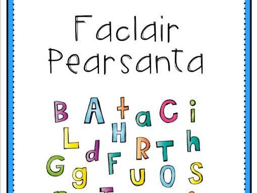 Faclair Pearsanta (Personal Dictionary)