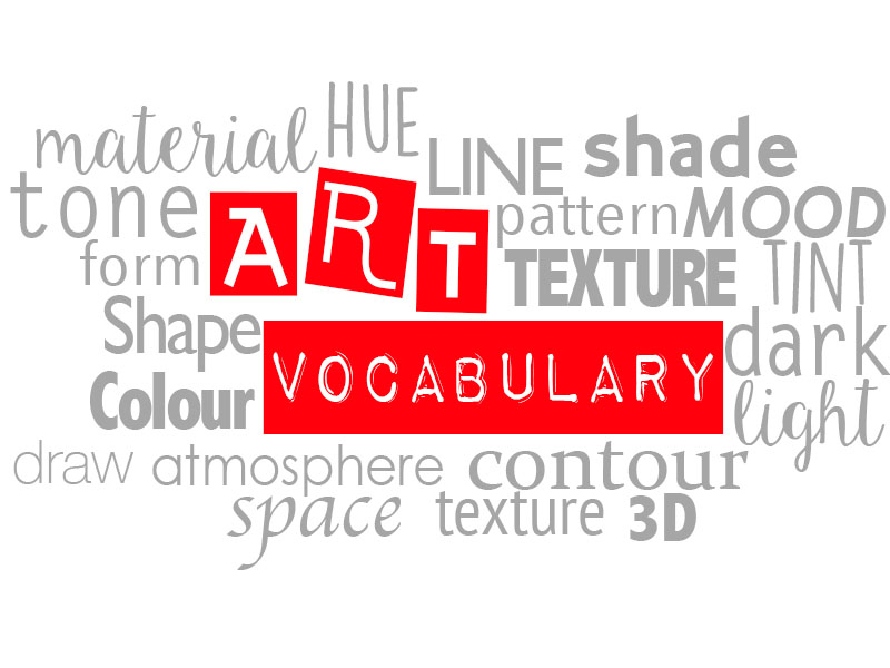 Art Vocabulary Handout