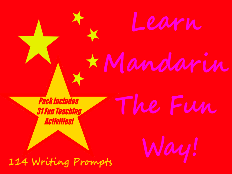114 Mandarin Writing Worksheets For Writing Practice +31 Teaching Activities Teacher Guide For Cards