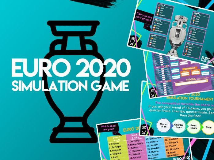 Euro 2020 Dice Simulation Game Pack