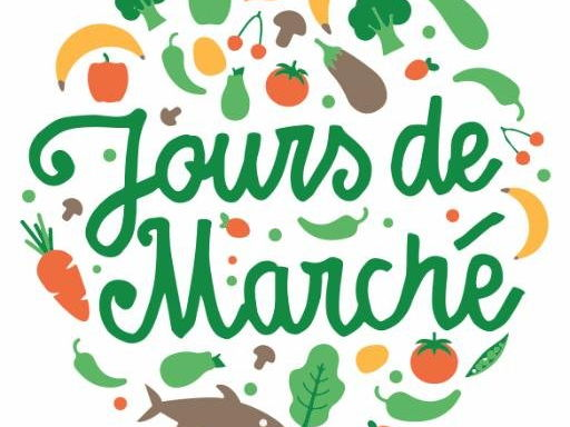 Mini-Book bilingual: Market day|Jours de marché - English-Français