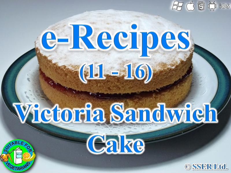 59. Victoria Sandwich Cake (e-Recipe)