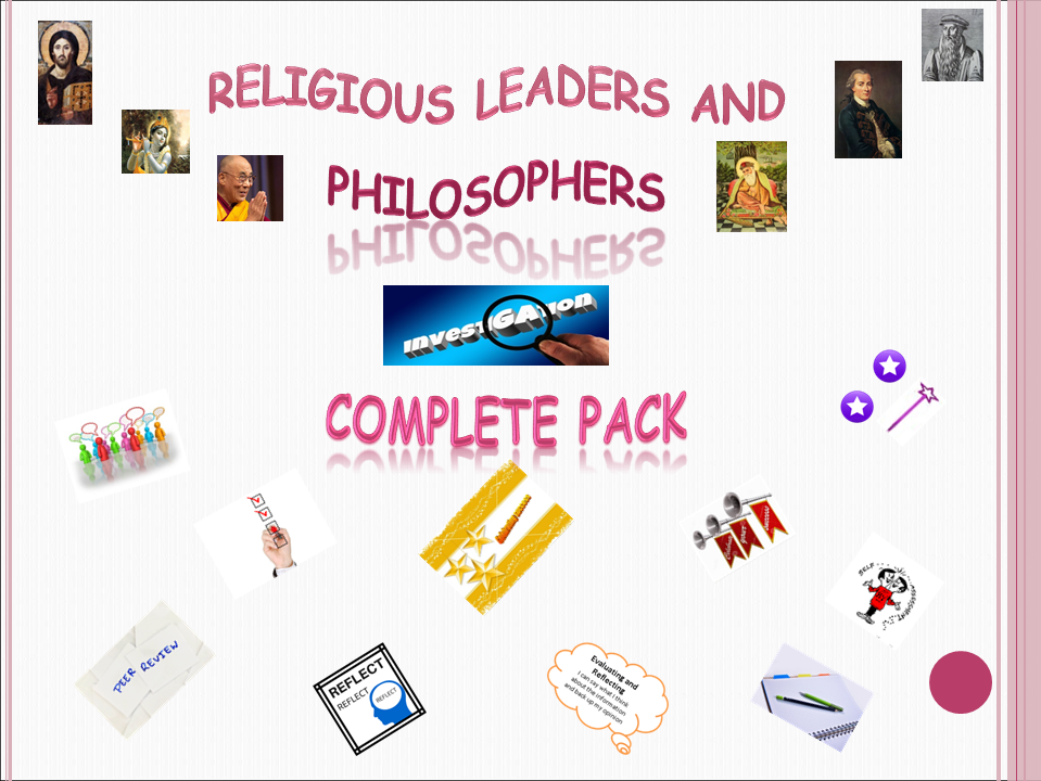 Religious Leaders and Philosophers Research