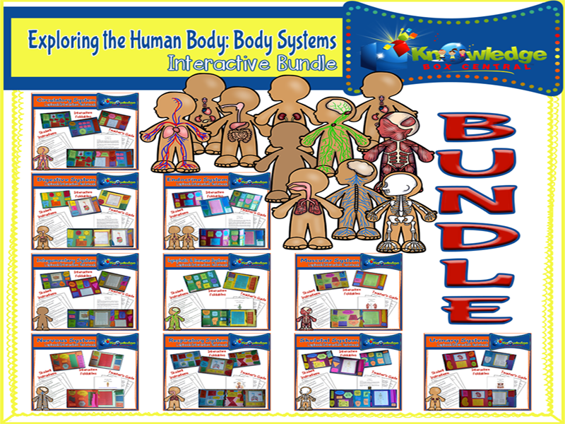 Exploring the Human Body: Body Systems Interactive BUNDLE