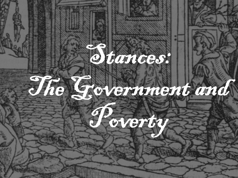 AQA GCSE History-The Elizbethan Era: Poverty