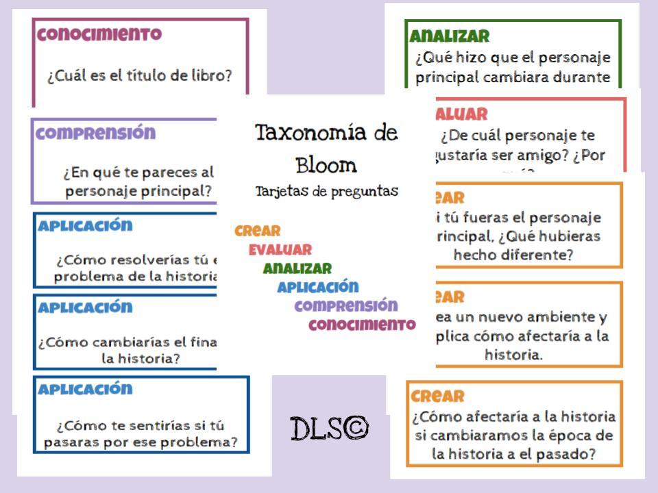Preguntas - Taxonomía de Bloom