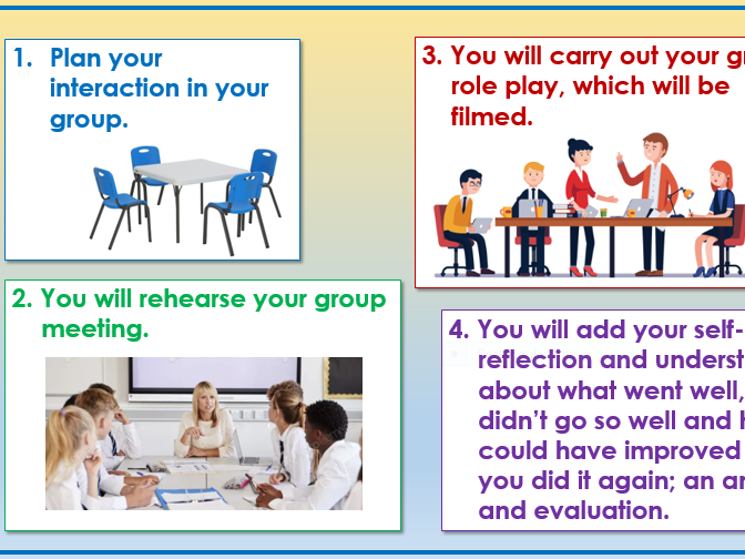 Level 2 group communication skills and actions resources and ideas for assessment