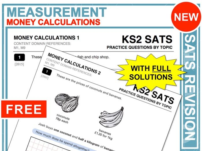 KS2 Maths (Money Calculations)