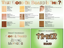 Timber and Board and Methods of Joining