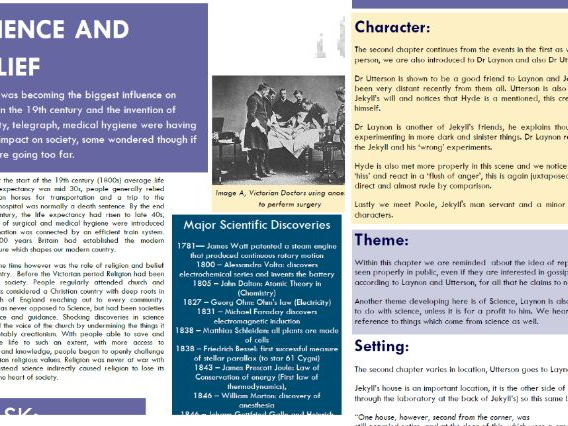 Jekyll and Hyde Textbook and Revision Guide
