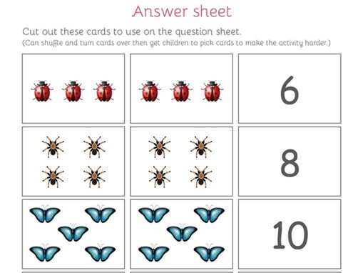 Maths - Multiplication (Lots of) - Card activity