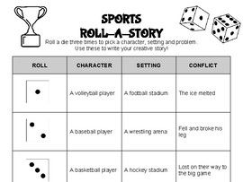 Sports Roll A Story