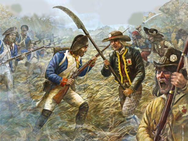 The Vendee Rebellion in France, 1793
