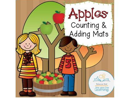 Apples Counting and Addition Fun