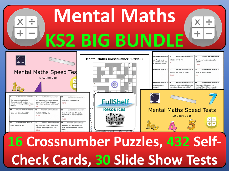 Mental Maths Activities KS2