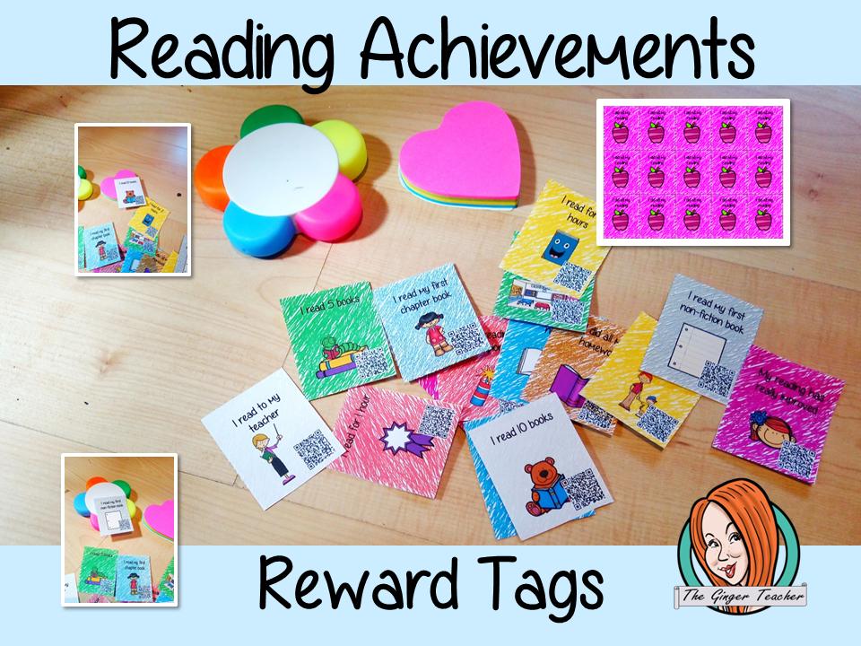 Reading Achievements Reward Tags