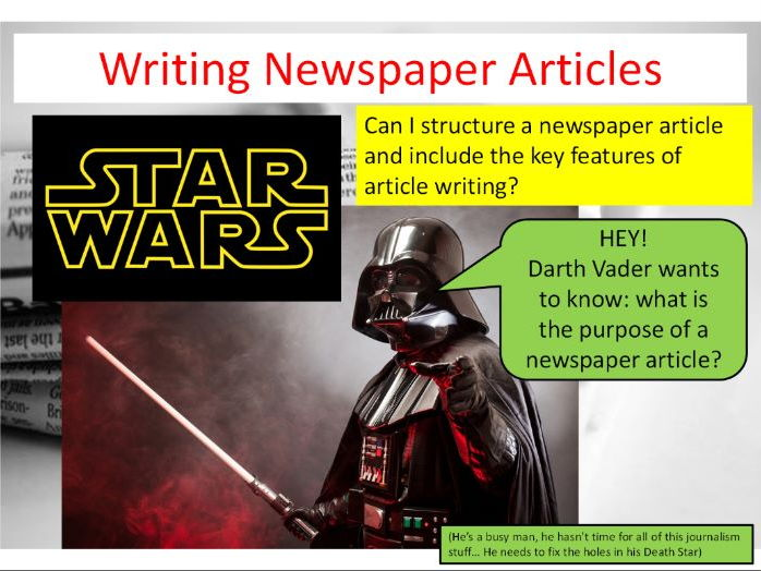 newspaper article teaching resources