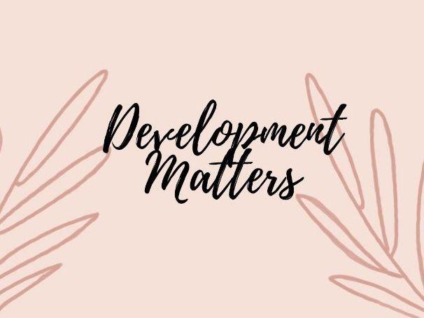 Development Matters