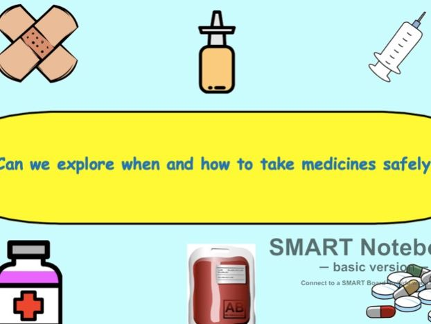 PSHE (Year 1) Can we explore how and when to take medicines safely?