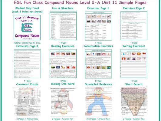 Compound Nouns Level 2-A Unit 11