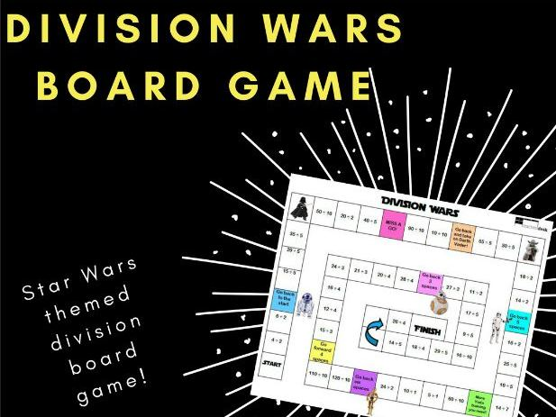 Division Wars Board Game