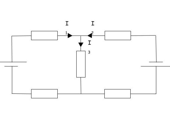 Kirchhoff double loop editable image