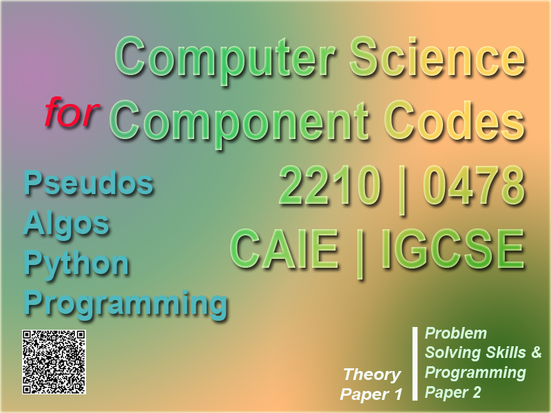 Computer Science for O' Level 2210 | 0478 | Test Preparation | Assessment