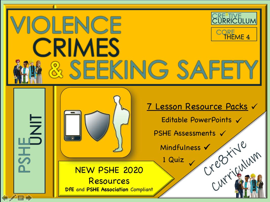 Violence, Crimes & Seeking Safety Unit