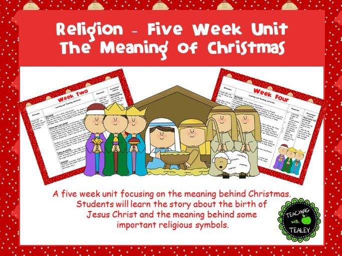 Nativity 5 Week Unit for Early Childhood