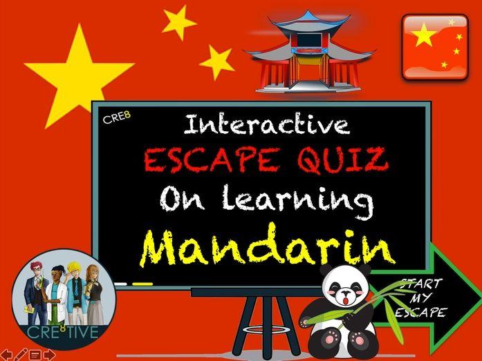 Mandarin Chinese Quiz - MFL