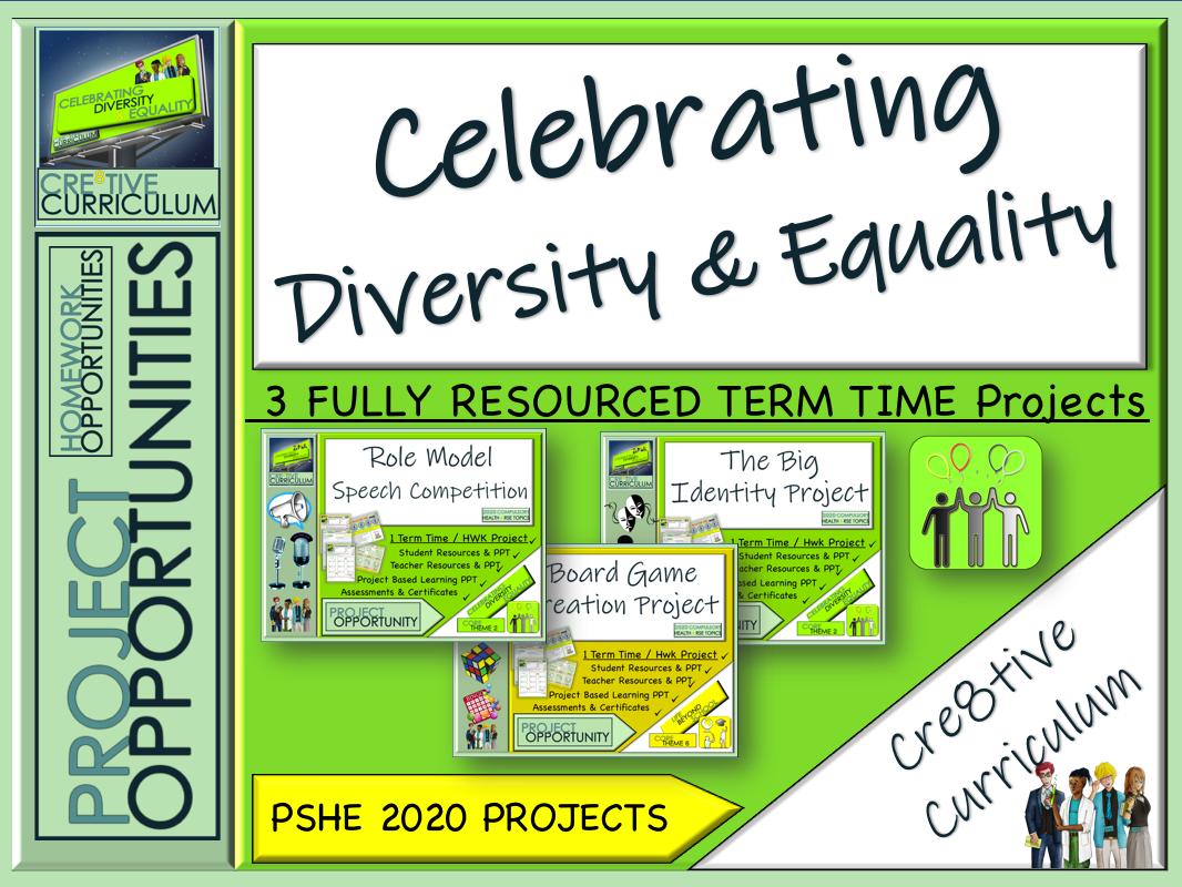 Celebrating Diversity & Equality Projects