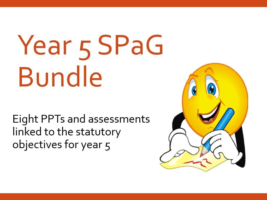 Year 5 SPAG Bundle