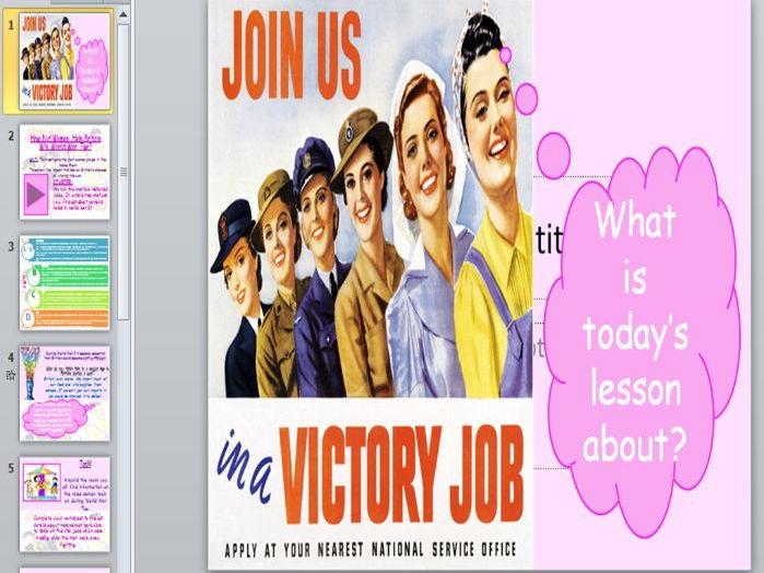 Women at Work in World War Two