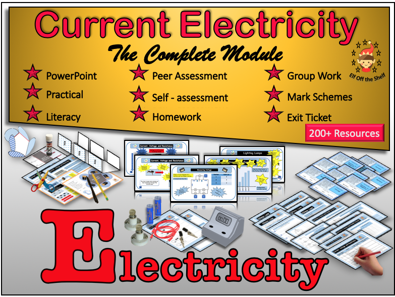 Current Electricity KS3 - The Complete Module