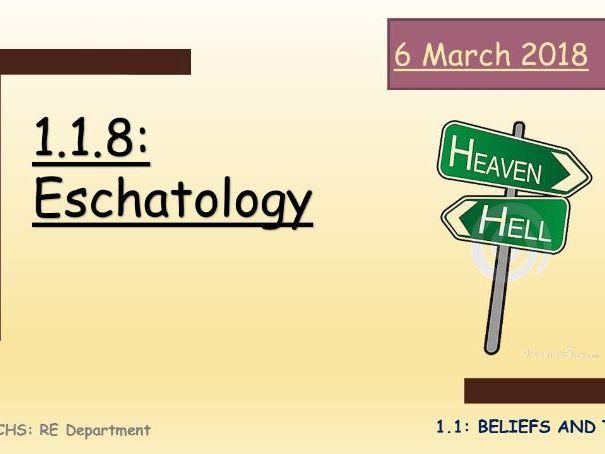 GCSE Religious Studies: Eschatology