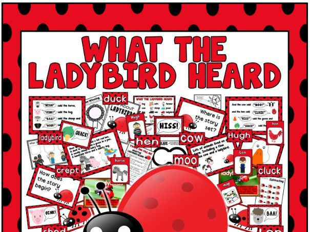 WHAT THE LADYBIRD HEARD STORY RESOURCES