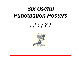'How To Use'... Six Useful Punctuation Posters